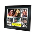 Bruce Lee signed photo Framed Memorabilia