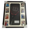 Roger Federer Signed Tennis Racket