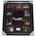 Scarface- Al Pacino signed photo framed authentic