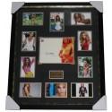 Beyonce Knowles signed Photograph Framed Authentic