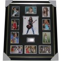 Miley Cyrus Hannah Montana signed photo framed authentic
