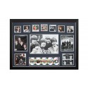 The Beatles Memorabilia Framed