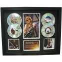 Bon Jovi 4 Cd Memorabilia Framed