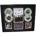 Cold Chisel 4 Cd Memorabilia Framed