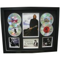 Johnny Cash 4 Cd Memorabilia Framed