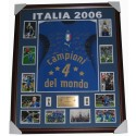 Italy 2006 squad signed jersey World cup FRAMED