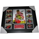 Valentino Rossi Memorabilia Limited Edition Framed Photo