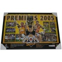 Wests Tigers 2005 PREMIERS poster framed