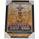 Wests Tigers 2005 PREMIERS squad poster framed