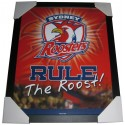 Sydney Roosters Club badge poster framed
