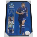 Tim Cahill Everton Poster Framed