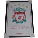 Liverpool FC Unrivalled History Poster Framed
