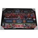 Manchester United Champions Poster Framed