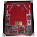 Liverpool signed jersey 1965 FA Cup winners FRAMED