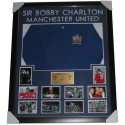 Bobby Charlton Signed Manchester United 1968 European Cup Final Jersey