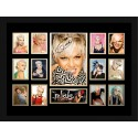 Pink Signed Photo Framed