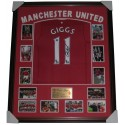 Ryan Giggs signed Manchester United jersey