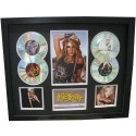 Kesha 4 Cd Memorabilia Framed