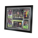 Lionel Messi signed Poster Framed