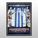 North Melbourne Kangaroos Signed jersey framed