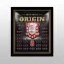 Queensland Maroons Origin Framed Shield