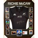 Richie McCaw signed New Zealand All Blacks jersey