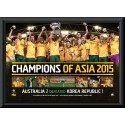Socceroos Poster Framed 2015 AFC Asian Cup