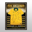 Australian Socceroos - World Cup Squad Signed and Framed Jersey