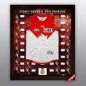 Sydney Swans 2012 signed jersey squad
