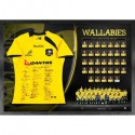Australian Wallabies signed jersey Full Squad