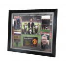 Alex Ferguson signed photo Framed image full view