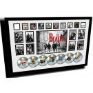 The Beatles Memorabilia Framed cd image