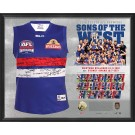 Western Bulldogs 2016 Signed Jersey Squad Guernsey image