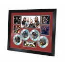 Metallica 4 Cd Memorabilia Framed