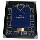 Chelsea FC signed jersey framed image full view