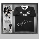 Dan Carter signed New Zealand All Blacks jersey