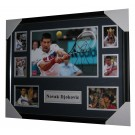 Novak Djokovic Signed Tennis Memorabilia image full view