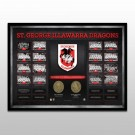 St George Dragons Historical Series Print Framed
