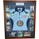 Paul Gallen signed NSW Origin Jersey