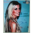 Faith Hill signed photo