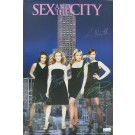 Sex and the City signed poster