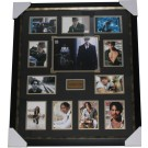 Johnny Depp signed photo framed Authentic Image Full View