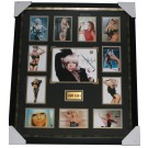 Signed Lady Gaga photo framed Picture. Front View