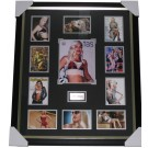 Gwen Stefani signed photo framed authentic Image Full View