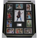 Miley Cyrus Hannah Montana signed photo framed authentic Image Full View