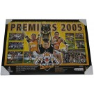 Wests Tigers 2005 PREMIERS poster framed FULL VIEW