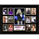 Madonna Signed Photo framed memorabilia
