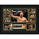 Randy Couture UFC Memorabilia Limited Edition Framed image full view