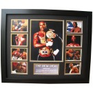 Evander Holyfield boxing Memorabilia Limited Edition Framed