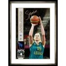 Lauren Jackson Signed Hero Photo Basketball